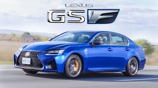 2019 Lexus GS F Review - 5 Liters of Naturally Aspirated V8 Reliability... and Burnouts