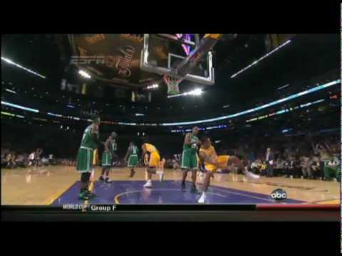 Shannon Brown Dunks - NBA Finals Game 6
