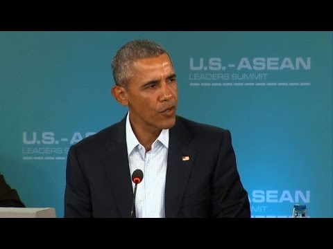 Obama hosts Southeast Asia leaders at desert retreat