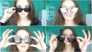 NEW Trendy Sunglasses Haul!! FionaFrills Vlogs