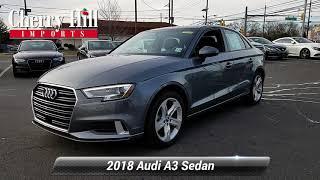 Certified 2018 Audi A3 Sedan Premium, Cherry Hill, NJ LA7299