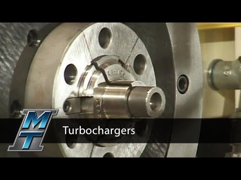 Turbocharger Inertia Friction Welding Demo - Manufacturing Technology, Inc.