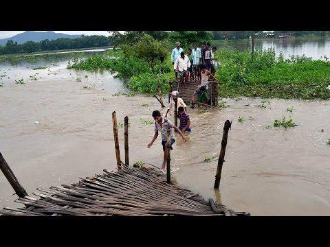 Flood conditions worsen in Assam as Brahmaputra flows above danger mark