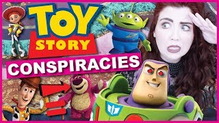 CRAZY Toy Story Conspiracy Theories