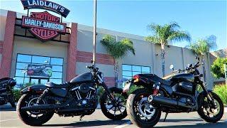 Harley-Davidson Iron 883 vs Street Rod 750│Comparison Review