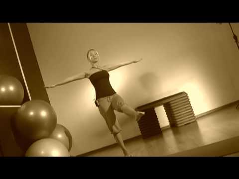 Уроки фитнес-йоги - видео