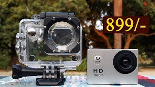 Unboxing of Cheapest Action Camera - Only in 899 Rupees