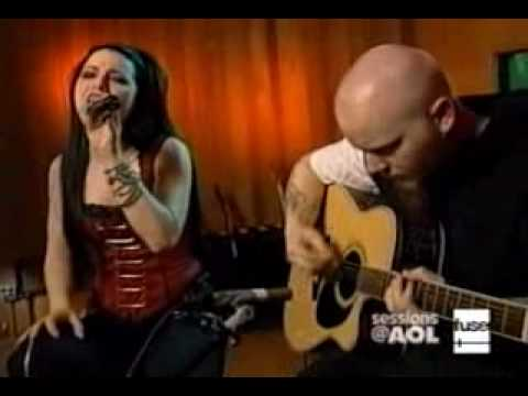 Download Lagu Evanescence - bring me to life acoustic live aol MP3 Free