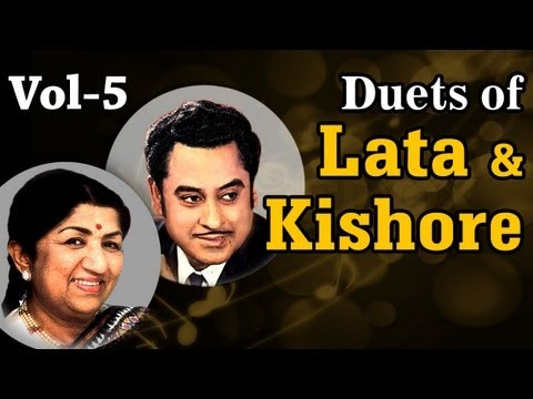 Lata Mangeshkar & Kishore Kumar Duets - Vol 5 - Evergreen Romantic Bollywood Songs