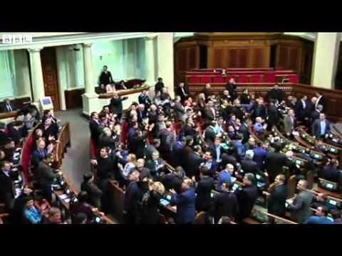 Moment Ukraine MPs voted to release ex PM Yulia Tymoshenko