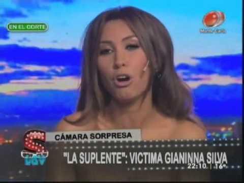 Cámara Sorpresa a Gianinna Silva - SLQV 01/09/2012
