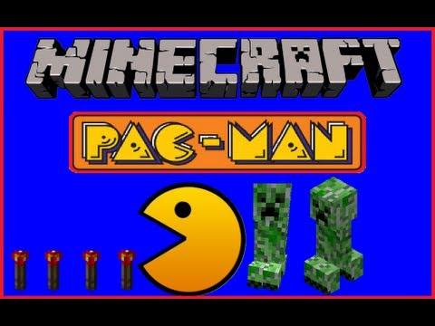 Minecraft Pacman Map w/ DOWNLOAD
