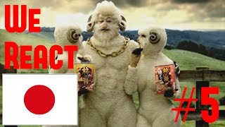 We React: Funny Japanese TV Commercials   Pt. 5