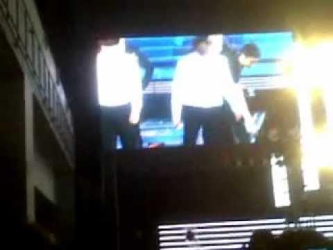 FANCAM 120429 SS4 Indonesia Day 3 Water Attack! Super Junior...