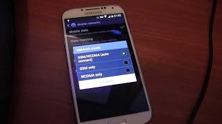 [SOLVED]ONLY 2G/3G/LTE IN Samsung Galaxy S4 AT&T,VERIZON etc.... #RGS