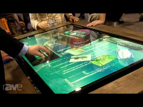 InfoComm 2013: MultiTouch Discusses MultiTaction Application Templates