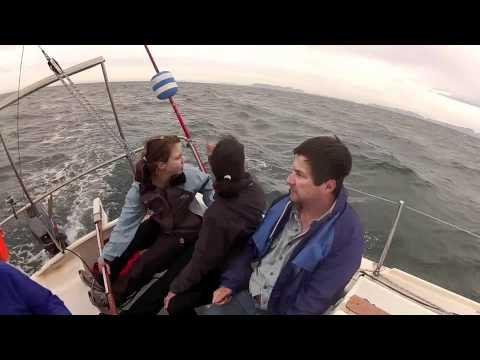 Sailing in False Bay South Africa