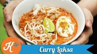Resep Kari Laksa Singapura (Singaporean Curry Laksa Recipe Video)   REINER