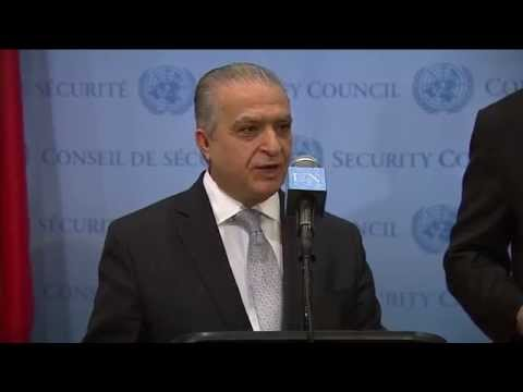 Iraq's and Syria's Views about UN New Resolution