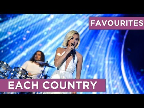 FAVOURITES | One Song From Each Country (2010 - 2019)