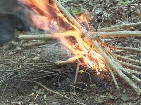 How To Make Your Own Wood Fire