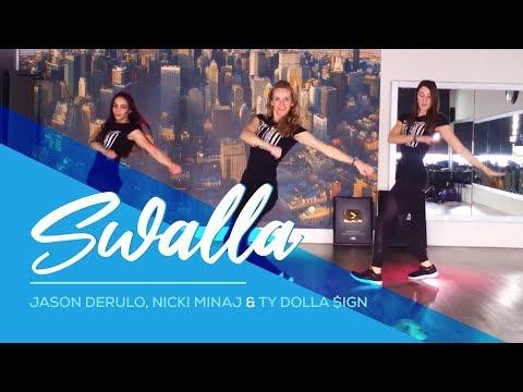 Swalla - Jason Derulo ft Nicki Minaj - Ty Dolla $ign - Easy Fitness Dance - Baile - Coreo Choreo