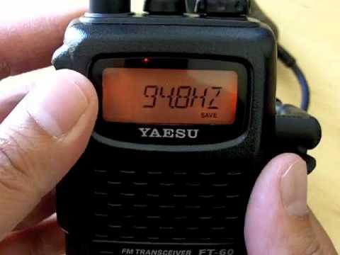 How to program the Yaesu FT-60R Transceiver