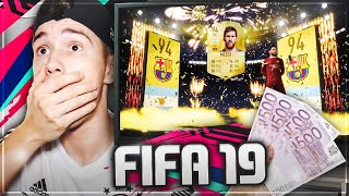 MESSI IM PACK!!! 😱🔥 FIFA 19 PACK OPENING 1000€