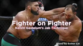 Fighter On Fighter: Kelvin Gastelum's Jab Technique - UFC 'Fortaleza'