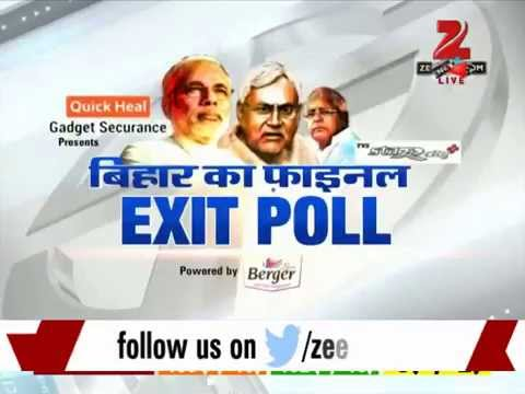 Bihar election: Results of the final exit polls