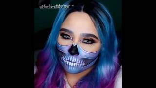 Top 15 Easy Halloween Makeup Tutorials Compilation 2016 #1