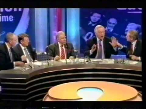 David Dimbleby Peace Process!