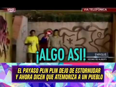 EL PAYASO QUE DICEN ATEMORIZA A ALBERTI  - 03-10-14