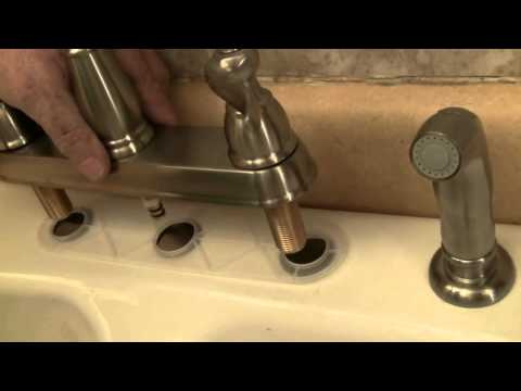 Install a New Kitchen Faucet