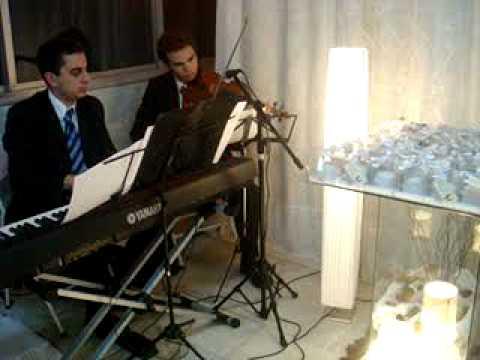 Orinoco Flow com Piano e Violino - Entrada dos Padrinhos Casamento - Grupo Vênus SP e RJ