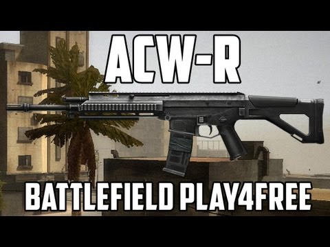 Battlefield Play4free ACW-R Gun Review