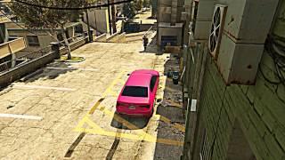 Psycho Dad Destroys Pink Car