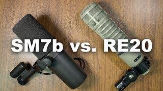 Shure SM7b vs. Electro Voice RE20 Comparison (Versus Series)