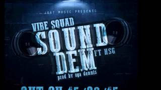 Vibe Squad Ft  NSG - SOUND DEM