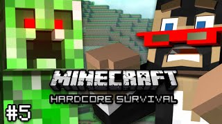 Minecraft: Hardcore Survival Let's Play Ep. 5 - INTO THE NETHER