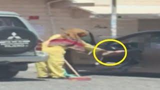 عمال البلديه يتسولون في الكويت