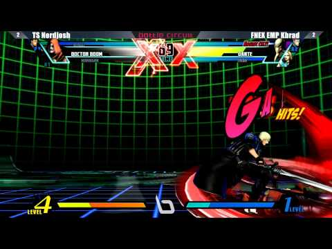 Ultimate Marvel vs Capcom 3 - Next Level Battle Circuit #19 Tournament Part 8