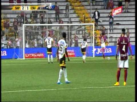 Deportivo Saprissa 2-1 CS Uruguay De Coronado