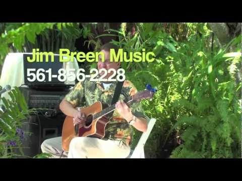 West Palm Beach Wedding Guitarist Jim Breen Classical Guitar