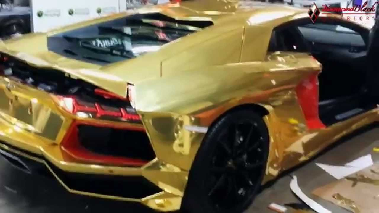 Gold Chrome Wrap Cost Lp700 Gold Chrome Wrap by