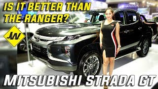 2019 Mitsubishi Strada GT 4x4 review, test drive -Is it better than the Ranger / hilux?  philippines