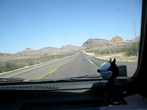 Highway 67 between Alpine and Marfa, Texas