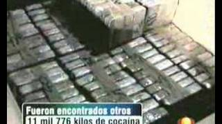 Ship with 35 Tons of Cocaine