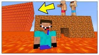 NOOB CONTRO ONDA GIGANTE DI LAVA! - Minecraft ITA