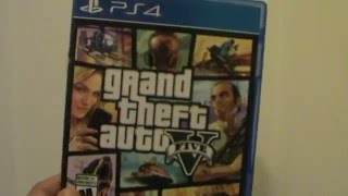 Unboxing (Abriendo) Grand Theft Auto V PS4